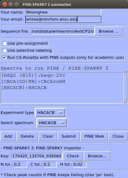 pine sparky 2 instructions